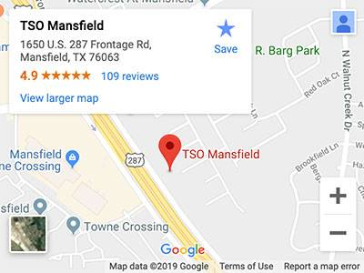 tso mansfield map directions